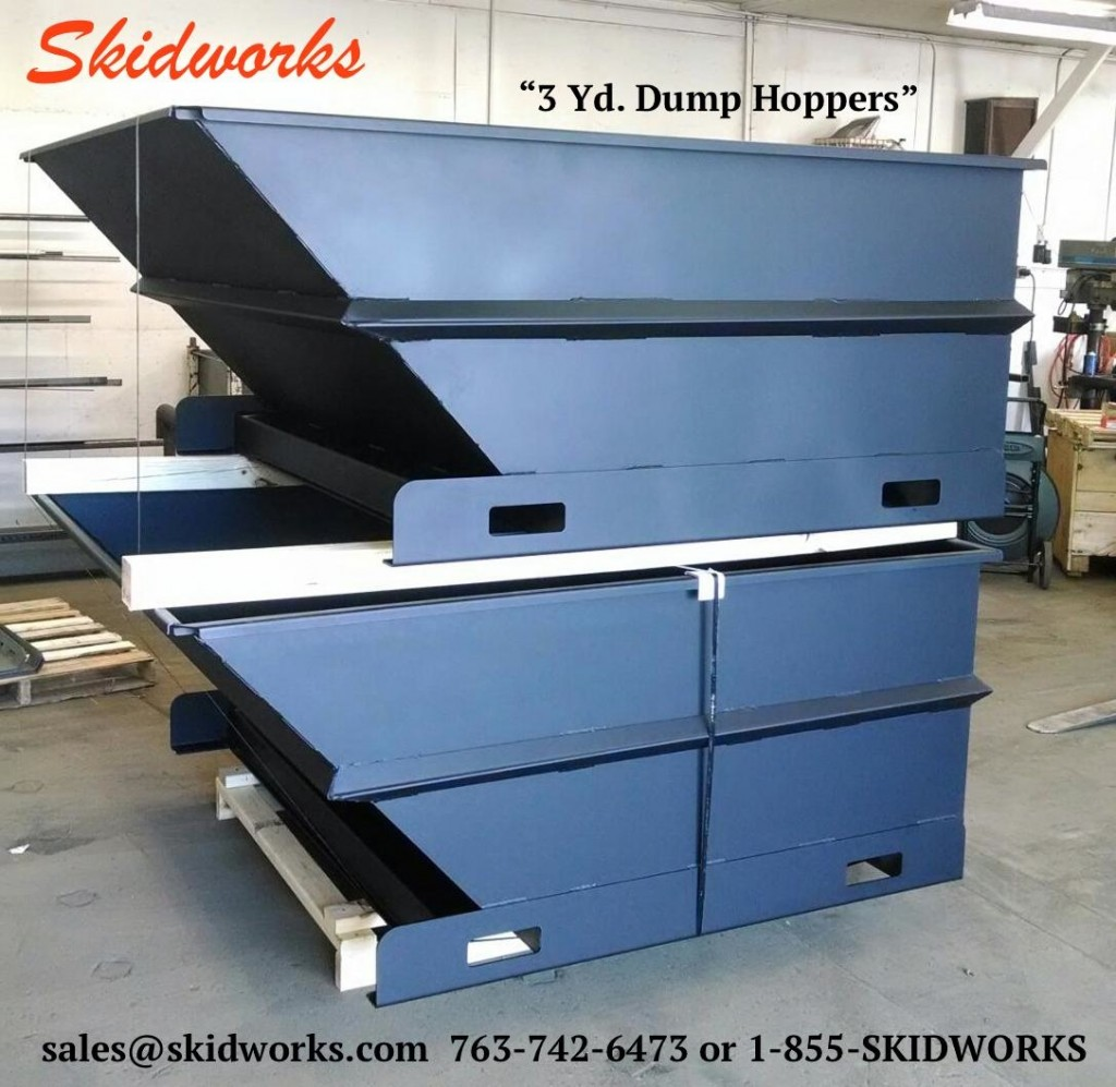 Dump Hoppers Skidworks Skid Steer Amp Telehandler Attachments